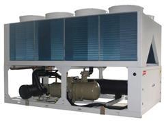 风冷热泵机组噪音的处理方法